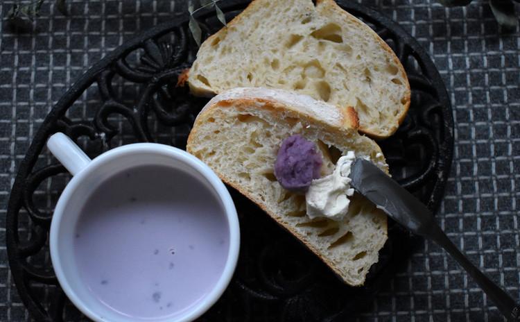 紫芋あん&紫芋あんの簡単ポタージュ