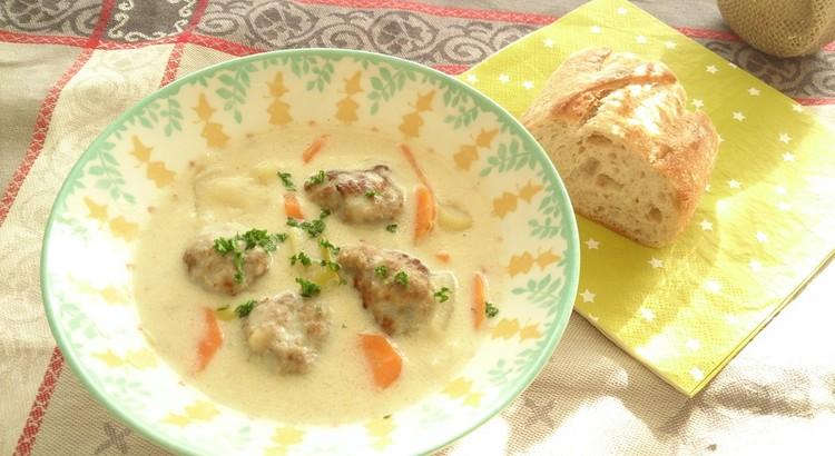北欧風ミートボールのスープ仕立て