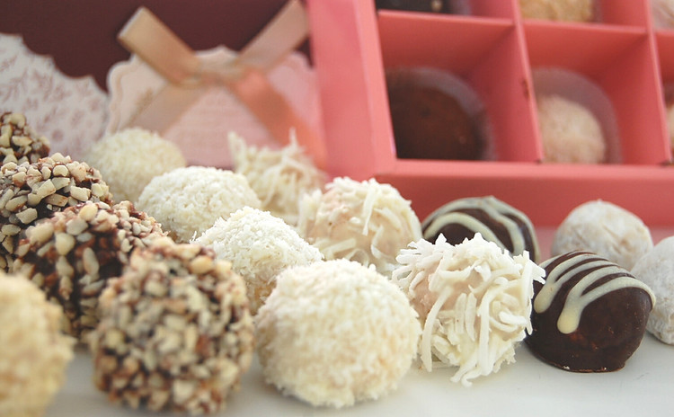 【プロが教える】チョコ菓子『アマンドサブレ トリュフ仕立て』一人50個