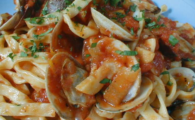 『手打ち生パスタ+トマトソース』 粉から手作りする生パスタ2種類8人分