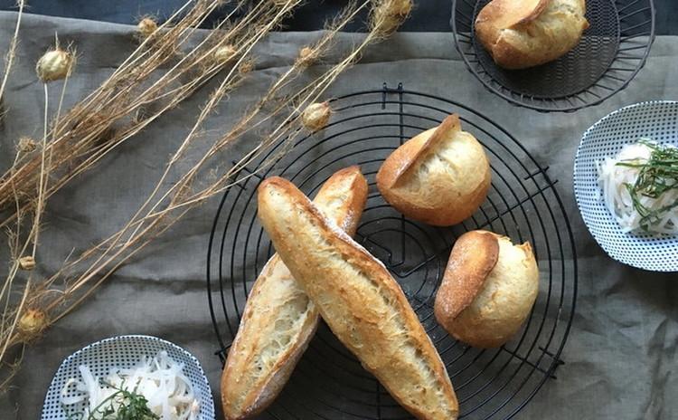 酒粕酵母パン!タバティエール&フィセル、大根とささみの酒粕酵母サラダ