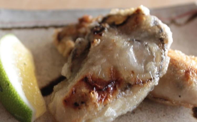 ジュワッとジューシーなカキのカリッと焼き!ゆり根と海老のかき揚げ