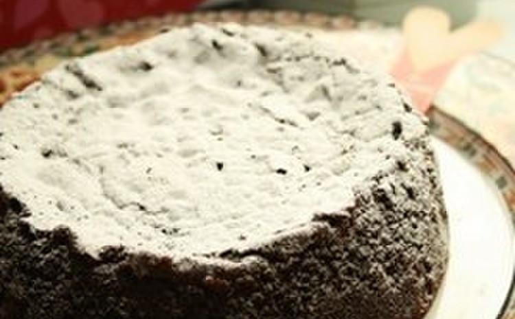 ガトーショコラクラシックでバレンタイン♡チョコケーキ(15㎝丸1台)