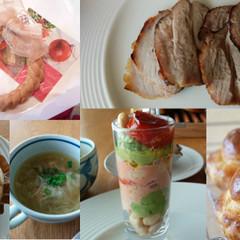 アートも楽しむ簡単クリスマス料理とリースパン作り