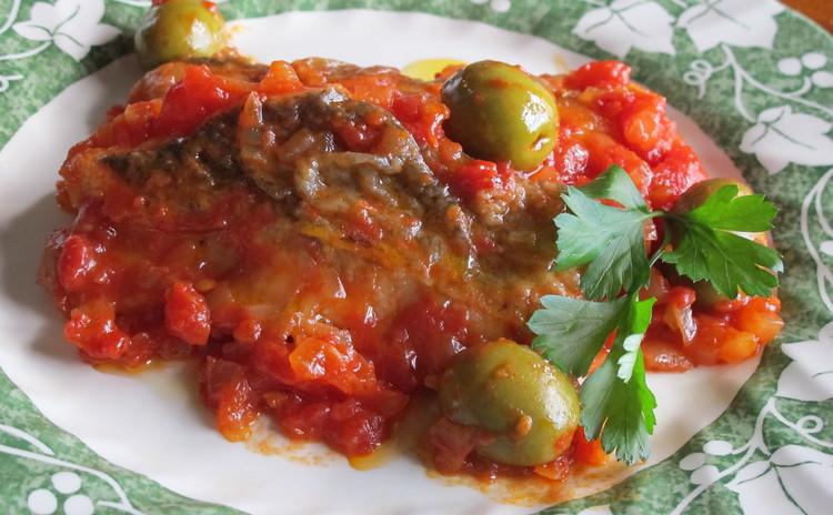 鱈のトマト煮