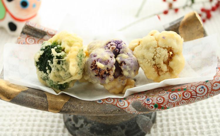 チャナベッサン(ひよこ豆の粉)を使った天ぷら