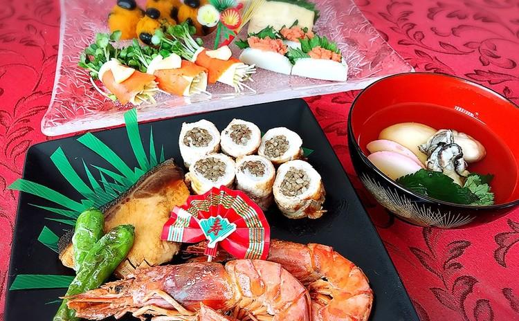 大皿料理でおもてなし♪牡蠣のお雑煮でほっこりお正月☆