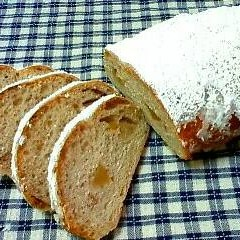 柚子の香りの和風シュトーレン&柚子のプチパン