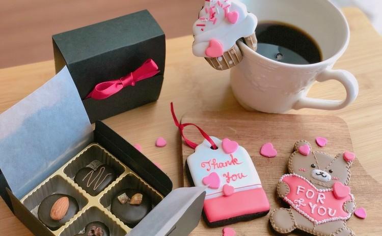 ハートと思いあふれるバレンタイン♡アイシングクッキー