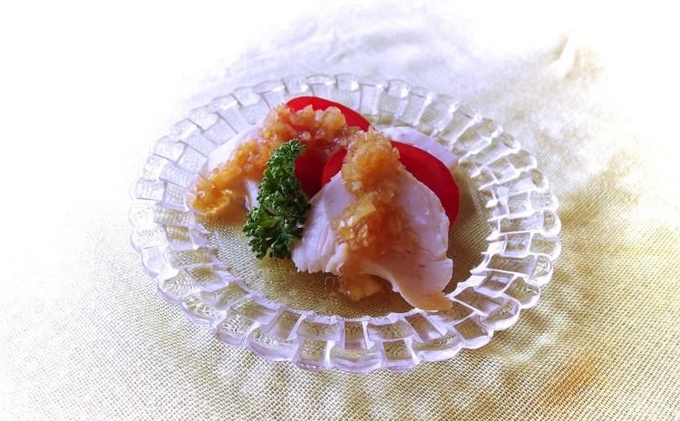 プリプリ鶏のミニサラダ(中華ドレッシング)