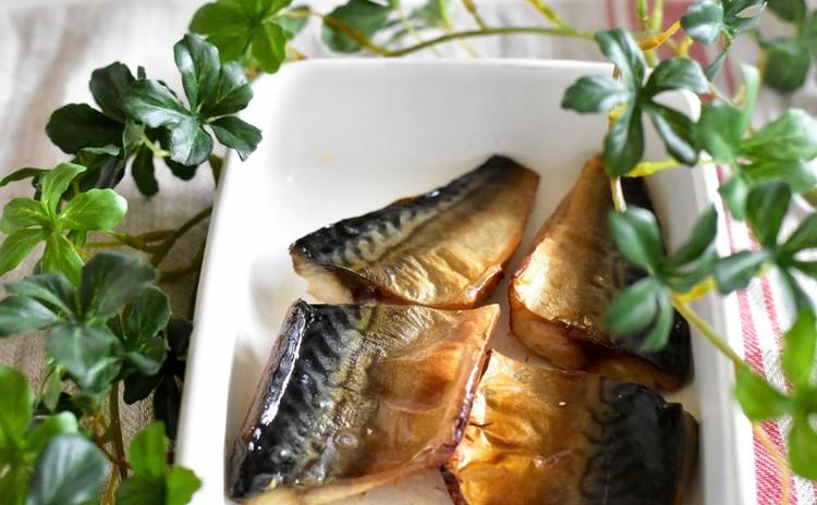 〆鯖のオーブン焼き