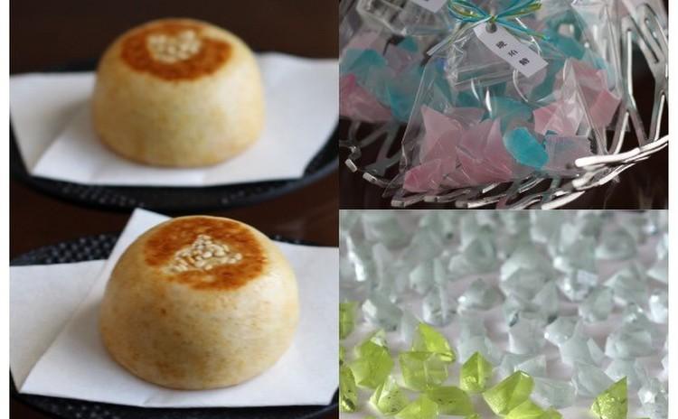 2月/「みそ饅頭」とまるで宝石!「琥珀糖」