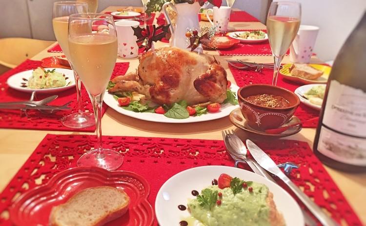 クリスマスには丸鶏を焼こう!メキシコの絶品チョコレートソースで♪