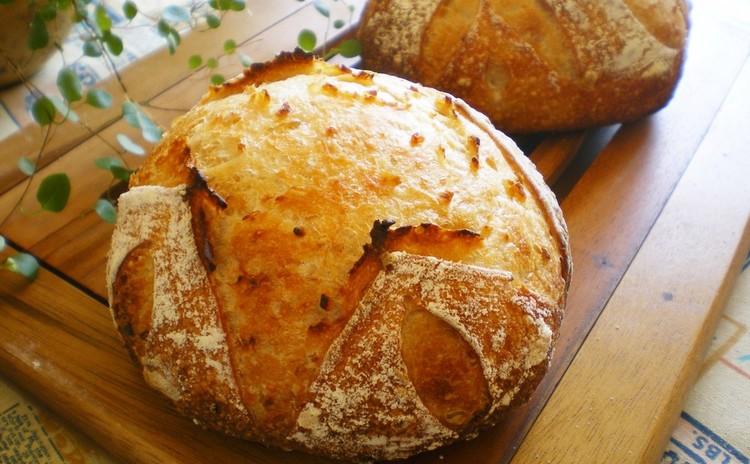 発芽玄米酒と濁酒✿2種の酒粕酵母で田舎パン&林檎のスティックパン♡