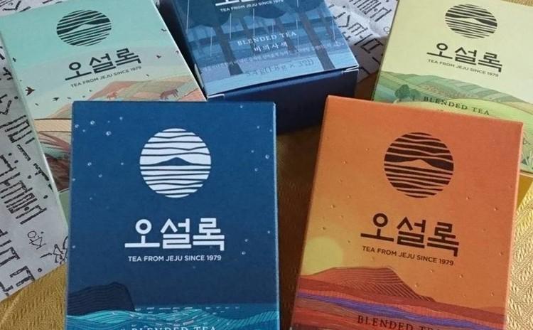 韓国のお菓子と韓国茶
