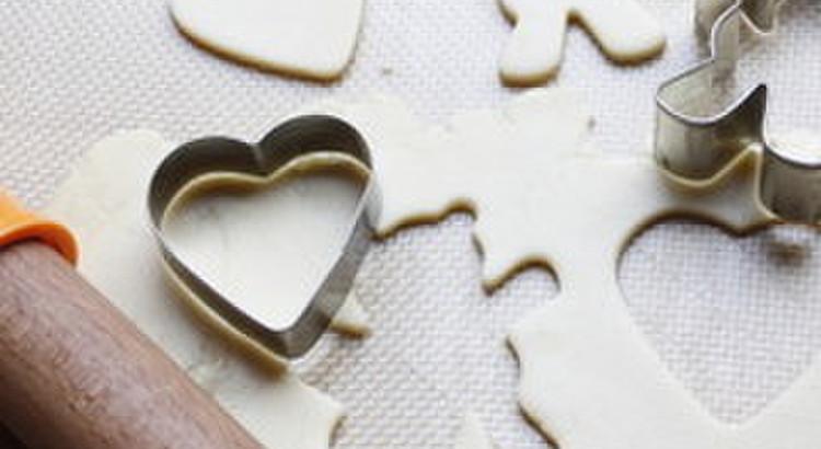 型抜きクッキーの作り方