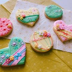 お正月☆和風アイシングクッキーレッスン