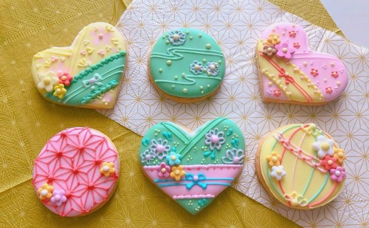 和風アイシングクッキー&着物クッキー