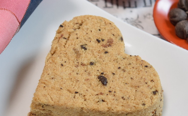 バレンタインデーにいかが!💛米粉で作る蒸し餅「コーヒーチョコソルギ」💛