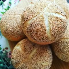 ランチ付☆白神こだま酵母で作る2種のドイツパン