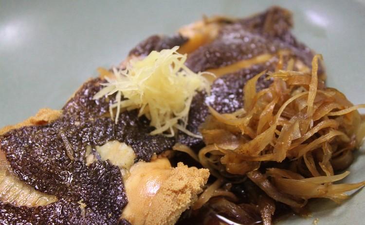 垂涎のカレイの煮付け!とろーりチーズの巻きかつと香り味噌をご一緒に。