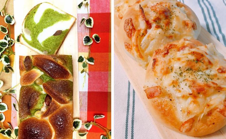 甘納豆&抹茶マーブル❤ジャーマンポテトパン『2種類のパンを作ろう!!』