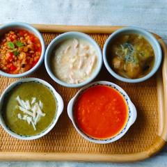 寒い季節にピッタリ!スープ5種類。ギリシャ、アメリカ、中華等。