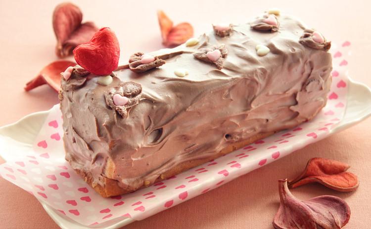 バレンタインは腕に縒りをかけて♥ローストビーフとチョコクリームケーキ