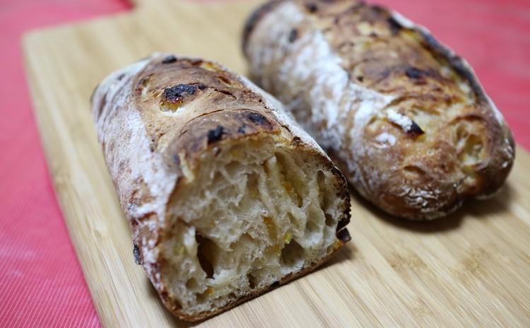 自家製酵母パン レーズン種でつくるゆず