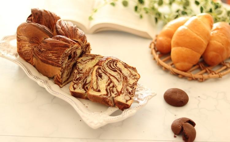 【元パン職人に学ぶ】塩バターロールパンと手作りチョコシートのブレッド
