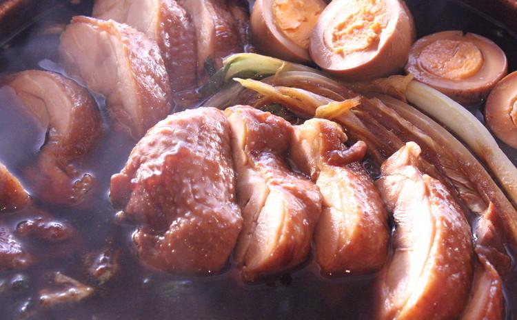 鶏肉と白菜の醤油煮