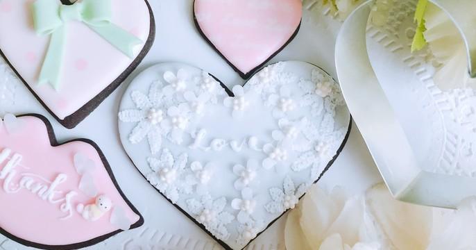 アイシングクッキー&手作り型レッスン♪バレンタイン、ウェディングにも!