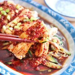 手作りラー油と口水鶏(よだれ鶏)◆クリナップ江戸川ショールーム
