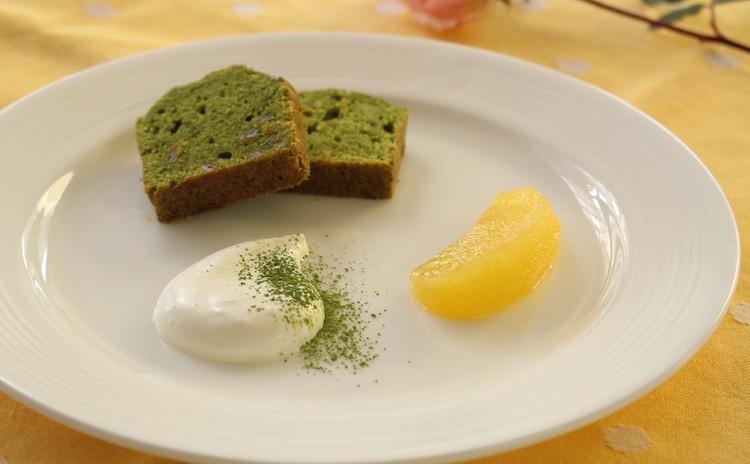 ゆずと抹茶のパウンドケーキ&ハーブの香るスモークサーモンのケーク・サレ
