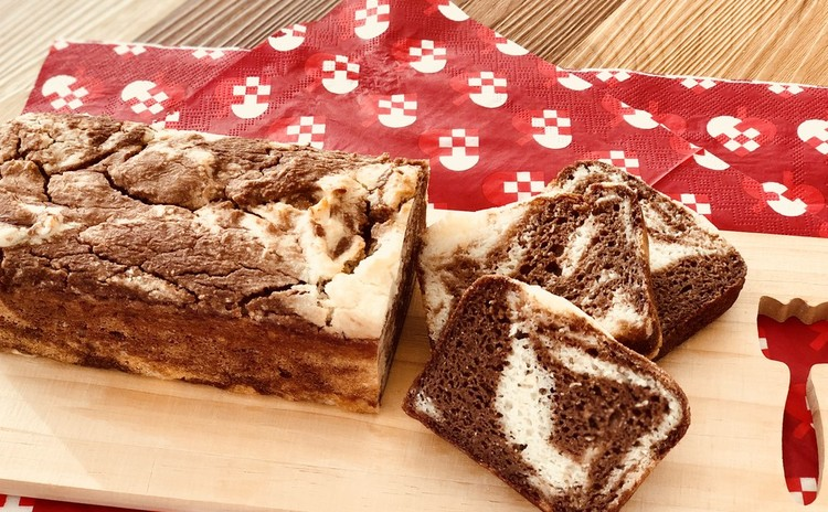 グルテンフリー!マーブル米粉パンと米粉のガトーショコラ