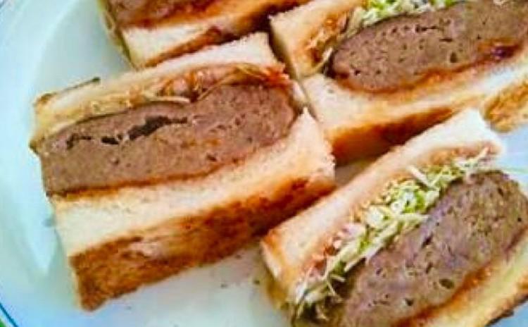 ハンバーグサンドウィッチ