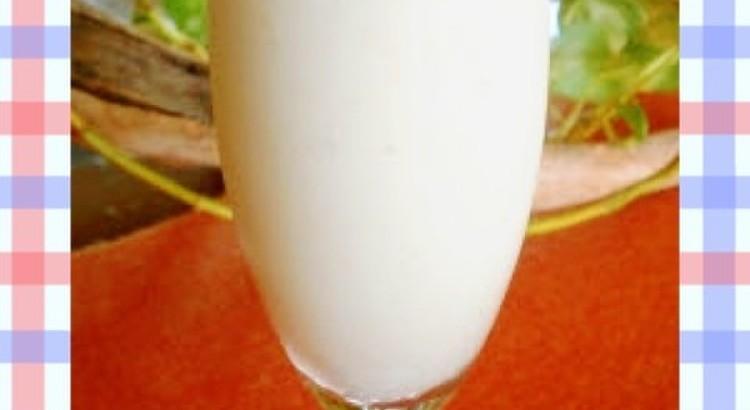 豆乳バナナスムージー