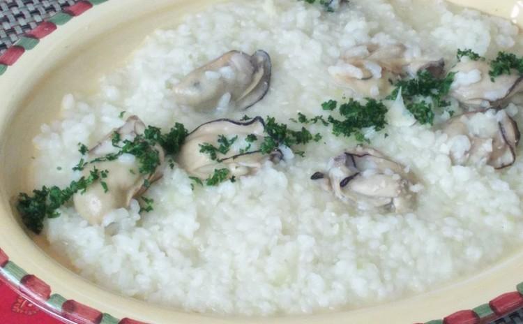 牡蠣のリゾット