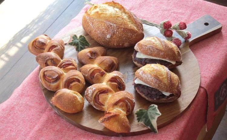 家でも焼けた!天然酵母のフランスパン「エピ・クッペ・あんバター」