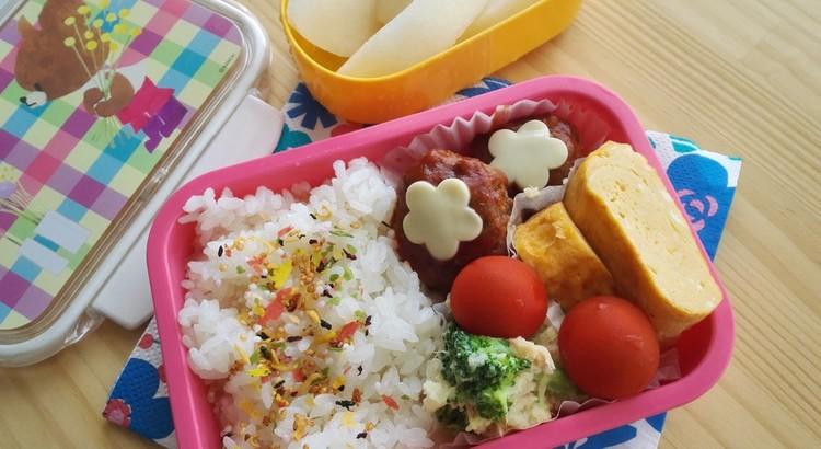 子どものかわいいお弁当。幼稚園、学童弁当スタートに!