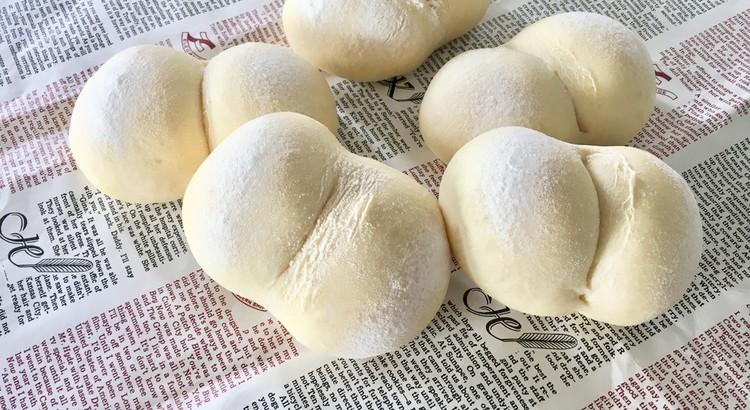 白パンお一人5個