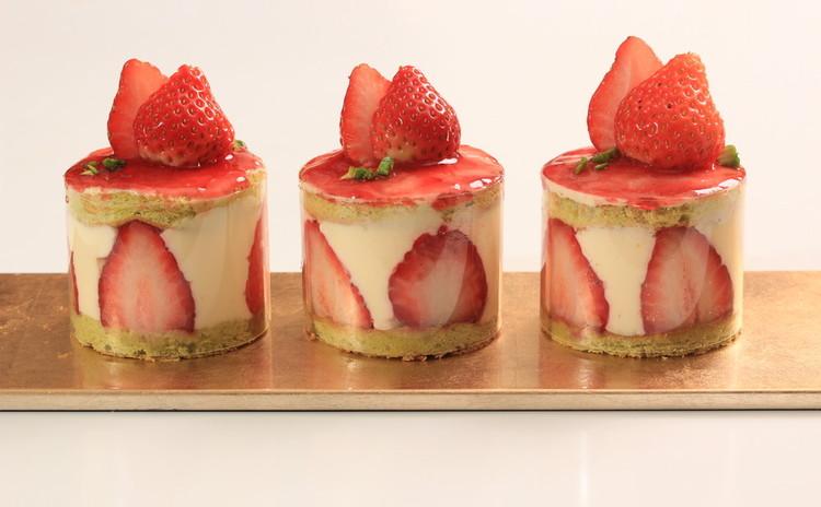 le fraisier ~春を感じるイチゴのケーキ
