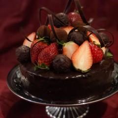 初心者でも作れます♪「濃厚チョコレートケーキ」