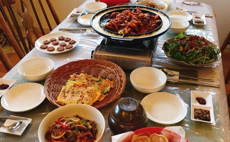 【韓国料理】流行の「チーズ タッカルビ」作りましょ♪