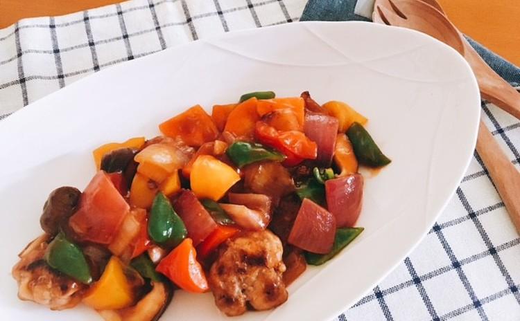 時短料理 カマンベール鍋、豆腐卵丼、簡単酢豚、簡単ピクルス、サツマイモのきんぴら、柚子ゼリー 柚子のお土産付