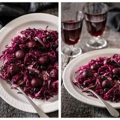 真っ赤なサラダや爽やかな白身魚のポシェをフォトジェニックにお盛り付け