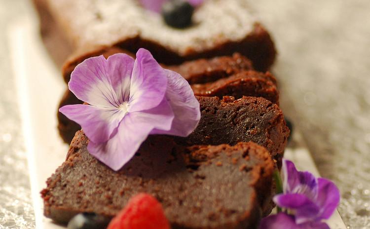バレンタインレッスンラッピング付き!テリーヌショコラとチョコサブレ