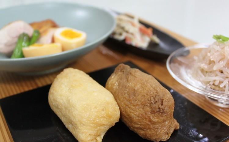[日程追加]白黒いなり寿司&超簡単!鶏の瞬間燻製&常備菜2品