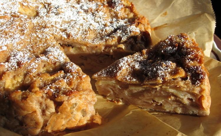 パンとリンゴのケーキ「マカファーメ」