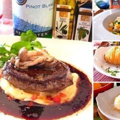 【日程追加】牛肉の赤ワインソースや春リゾット 人気メニューで春レッスン